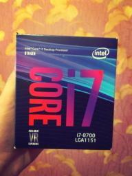 Процесор Intel Core i7-8700 3.2GHz/8GT/s/12MB (BX80684I78700) s1151 BOX фото від покупців 1