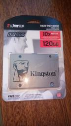 "Kingston SSD UV500 120GB 2.5"" SATAIII 3D NAND TLC (SUV500/120G) фото от покупателей 14"