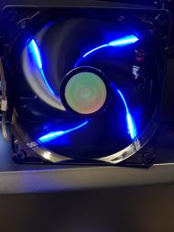 Кулер Cooler Master SickleFlow 120 2000 RPM (R4-L2R-20AC-GP) Blue фото от покупателей 2