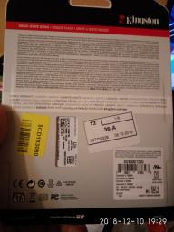 "Kingston SSD UV500 120GB 2.5"" SATAIII 3D NAND TLC (SUV500/120G) фото от покупателей 18"