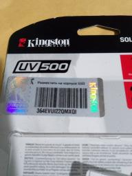 "Kingston SSD UV500 240GB 2.5"" SATAIII 3D NAND TLC (SUV500/240G) фото от покупателей 19"