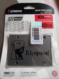 "Kingston SSD UV500 240GB 2.5"" SATAIII 3D NAND TLC (SUV500/240G) фото от покупателей 24"