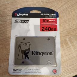 "Kingston SSD UV500 240GB 2.5"" SATAIII 3D NAND TLC (SUV500/240G) фото от покупателей 28"