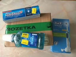 Електрична зубна щітка ORAL-B BRAUN Vitality CrossAction/D100 Blue (4210201262336) фото від покупців 13