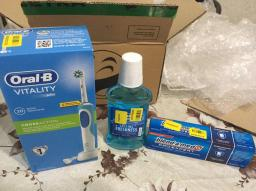 Електрична зубна щітка ORAL-B BRAUN Vitality CrossAction/D100 Blue (4210201262336) фото від покупців 20