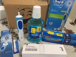 Електрична зубна щітка ORAL-B BRAUN Vitality CrossAction/D100 Blue (4210201262336) фото від покупців 22