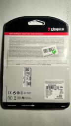"Kingston SSD UV500 120GB 2.5"" SATAIII 3D NAND TLC (SUV500/120G) фото от покупателей 26"