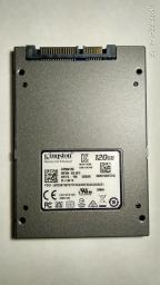 "Kingston SSD UV500 120GB 2.5"" SATAIII 3D NAND TLC (SUV500/120G) фото от покупателей 28"