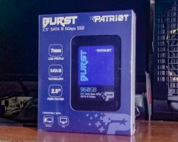 "Patriot Burst 960GB 2.5"" SATAIII 3D NAND (QLC) (PBU960GS25SSDR) фото от покупателей 3"