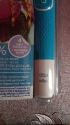 Електрична зубна щітка ORAL-B BRAUN Stage Power/D100 Frozen (4210201245216) фото від покупців 14