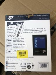 "Patriot Burst 120GB 2.5"" SATAIII TLC 3D (PBU120GS25SSDR) фото от покупателей 95"