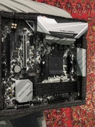 Материнская плата ASRock B450M Steel Legend (sAM4, AMD B450, PCI-Ex16) фото от покупателей 5